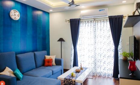 fotografía-salón-decorado-color-azul-y-blanco-verano
